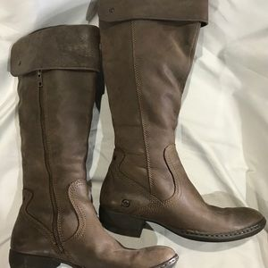PERI Leather Riding Boots by Born. EUC!!!